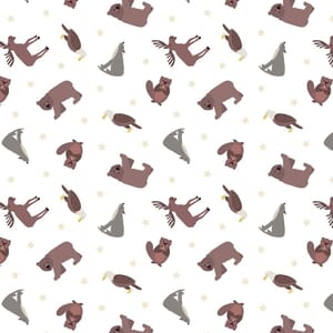 Lewis and Irene Small Things World Animals North American Animals White