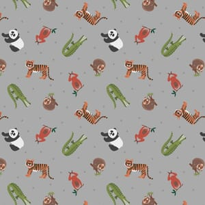 Lewis and Irene Small Things World Animals Asian Animals Grey