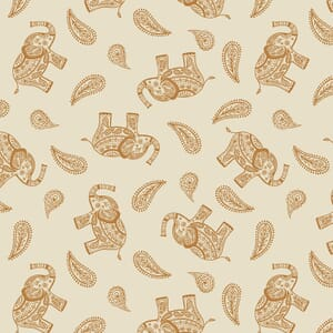 Lewis and Irene Soraya Paisley Elephant Cream