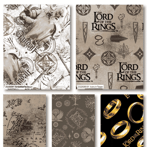 Lord of the Rings Fat Quarter Pack 23220206 FQ