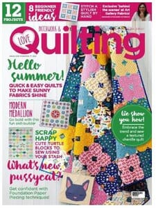 Small Image of Love Patchwork and Quilting Magazine