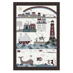 Lynette Anderson Ship to Shore Fabric Panel 6805-015