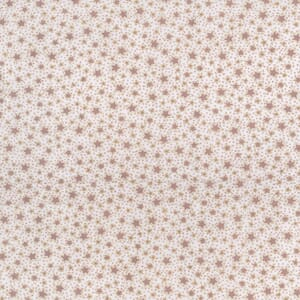 Large Image of Lynette Anderson Winter Playground Stitched Stars Custard