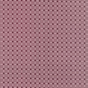 Large Image of Lynette Anderson Winter Playground Checkered Stars Strawberry Shake