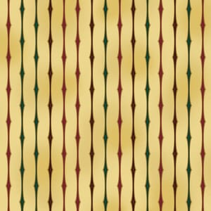 Small Image of Stof Christmas Fabric, Amazing Stars 4594-206, Beige & Gold