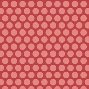 Makower Fabric Edyta Little Sweethearts Red/Pink 2/8831R