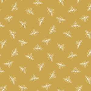 Makower French Chateau and Bee Bees Saffron
