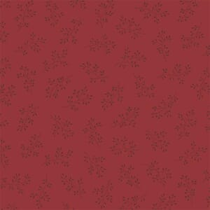 Makower Fabric Olive Branch Cranberry 2-8511R1