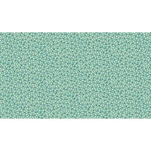 Small Image of Makower Patchwork Fabric Katie Jane Ditzy Turquoise