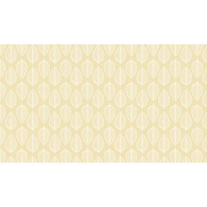 Small Image of Makower Patchwork Fabric Essentials Leaf Full Cream