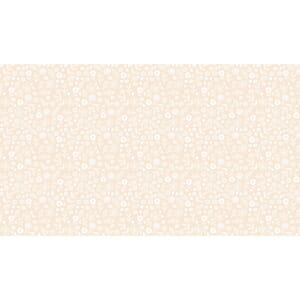 Makower Patchwork Fabric Essentials Doodle Ditzy Nude