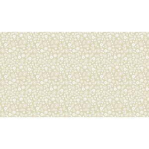 Small Image of Makower Patchwork Fabric Essentials Doodle Ditzy Oyster