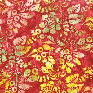 Small Image of Makower Patchwork Fabric A Splash of Colour Batiks Colour 8594P