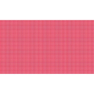 Small Image of Makower Patchwork Fabric Fruity Friends New Gingham Red