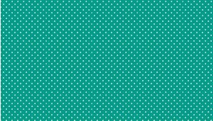 Makower Patchwork Fabric Spots on Turquoise