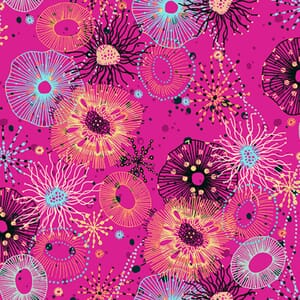 Makower Reef Pink Fabric