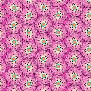 Makower Reef Urchin Pink Fabric