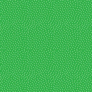 Makower Fabric Star Bright Green 2-9166G5