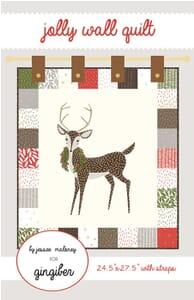 Merriment Jolly Wall Quilt Pattern (Charm Pack Friendly)