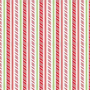 Merry and Bright Christmas Red and Green Ribbon