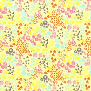 Small Image of Michael Miller Primrose Summer Meadow Cotton Fabric