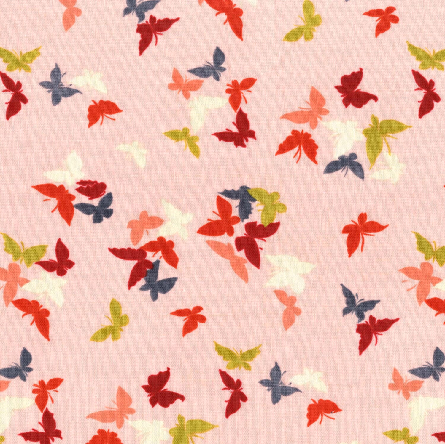 Michael Miller Sea Holly Flutter-by Clouds Blossom Cotton Fabric