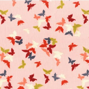 Small Image of Michael Miller Sea Holly Flutter-by Clouds Blossom Cotton Fabric