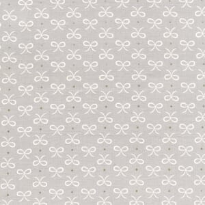 Small Image of Michael Miller Wee Sparkle Bitty Bows Cloud With Metallic Cotton Fabric