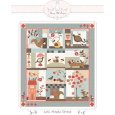 Large Picture of Moda Fabric 101 Maple Street Block of the Month Pattern