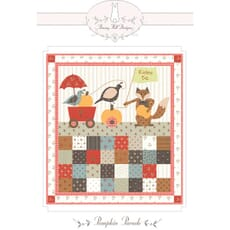 Large Picture of Moda Fabric 101 Maple Street Pumpkin Parade Pattern