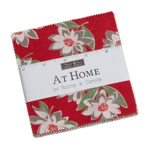 Moda At Home Reds Charm Pack