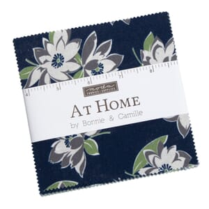 Moda At Home Blues Charm Pack