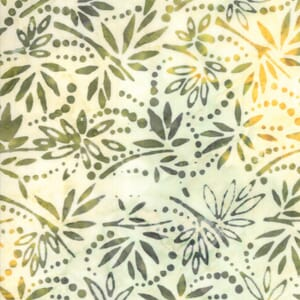Large Image of Moda Bahama Batik Frond Fabric 4352 31