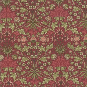 Moda Best of Morris Fall Hyacinth 1900 to 1912 Crimson
