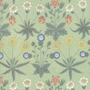 Moda Best of Morris Spring Daisy 1865 to 1875 Sage