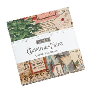 Small image of Moda Christmas Faire Charm Pack 7390PP