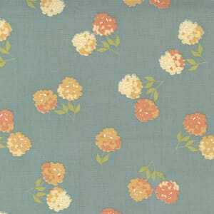 Small Image of the Moda Cozy Up Clover Blue Skies Fabric 29121 17