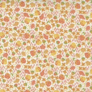 Large Image of the Moda Cozy Up Scattered Ditsy Cloud Cinnamon Fabric 29122 11