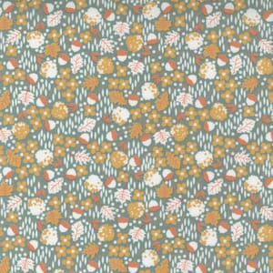 Large Image of the Moda Cozy Up Scattered Ditsy Blue Skies Fabric 29122 17