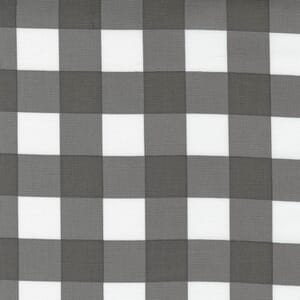 Large Image of the Moda Cozy Up Check Grey Skies Fabric 29125 16