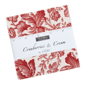 Moda Cranberries and Cream Charm Pack