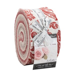 Moda Cranberries and Cream Jelly Roll