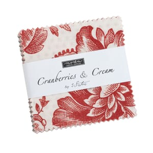 Moda Cranberries and Cream Mini Charm