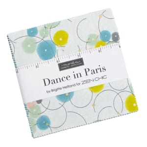 Moda Dance in Paris Charm Pack