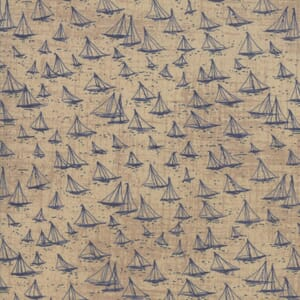 Swatch Image of Moda Fabric Ebb and Flow Cowes Tan