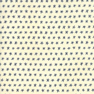 Swatch Image of Moda Fabric Ebb and Flow Starfish Natural