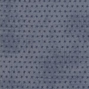 Swatch Image of Moda Fabric Ebb and Flow Starfish Light Blue