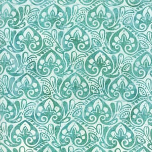 Small Image of Moda Fabric Longitude Batiks Turquoise 27259-102
