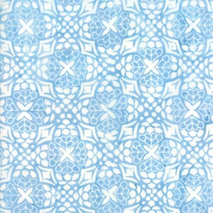 Small Image of Moda Fabric Longitude Batiks Sky Blue 27259-153