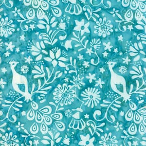 Small Image of Moda Fabric Longitude Batiks Turquoise 27259-75
